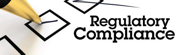 Assessment management to meet regulatory compliance