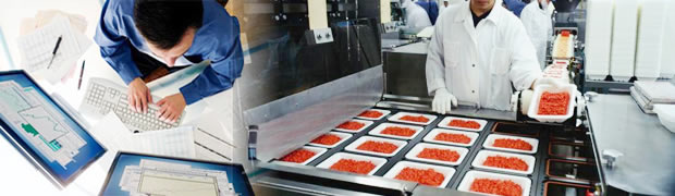 Audit management system for food processing industry