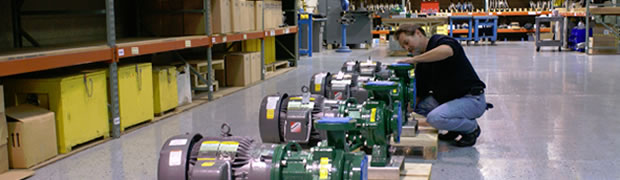Quality management solutions for a leading Pump manufacturer